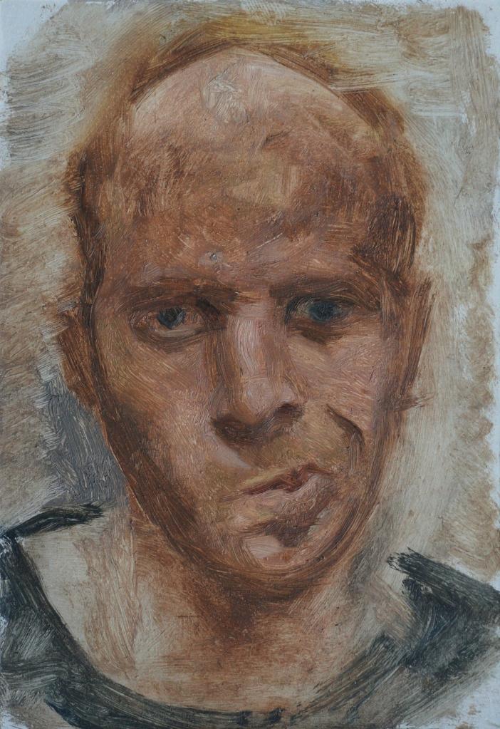 Quizzical Self Portrait